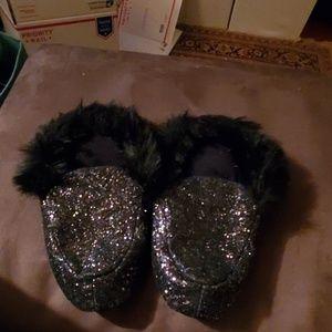 Victoria Secret Glitter Slippers